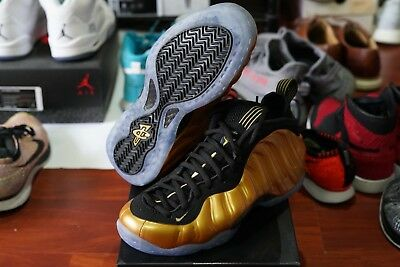 timeless design c10bd 8325d Ds Nike Air Foamposite One 1 Penny Pro Metallic Gold Black Galaxy 314996-700  7.5