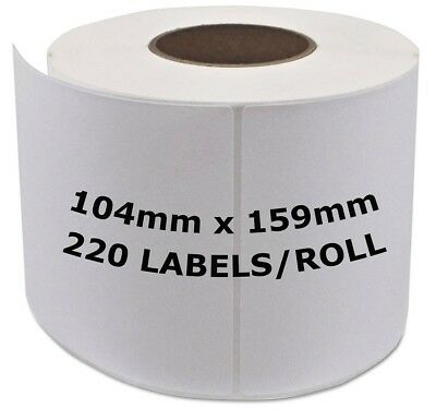 Compatible Dymo 4XL White Extra Large Shipping Labels 104 x 159mm (S0904980)