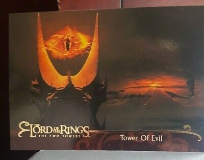 TOPPS 2003 LORD OF THE RINGS LoTR THE TWO TOWERS UDATE NEW TRADING CARDS LOT