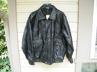 Xelement 5 Xl Mens Leather Motorcycle Jacket New W Tags