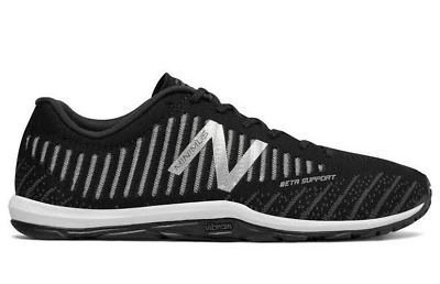 Men's NEW BALANCE Minimus Cross Training Trainer Sneakers - MX20BK7 Black White