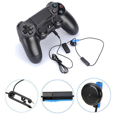 Gaming Headphone Earphone Headset MIC For Sony PS4 Playstation 4 Controller