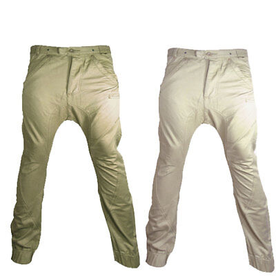 New Boys Youth Fly Guy Drop Crotch Cuffed Chinos Casual Jeans Trousers Waist ...