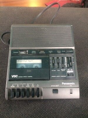 Panasonic Rr-830 Standard Size Cassette Transcriber (No Accessories)