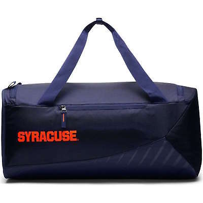 NIKE SYRACUSE UNIVERSITY Vapor Power Duffel Bag 3174 CU IN Navy Blue ... d3bdcd3516e08