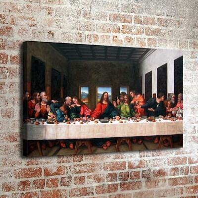 The Last Supper HD Canvas Print Painting Home Decor room Wall Art Picture 200315