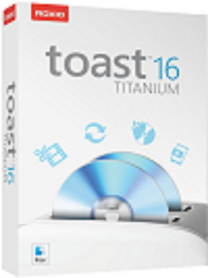Toast Titanium 16 Software Digital Download Brand New