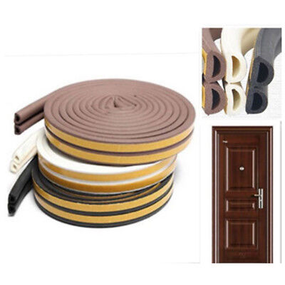 1xD/E/P Type Foam Seal Strip Foam Weatherstrip Draught Window Rubber Sound-Proof