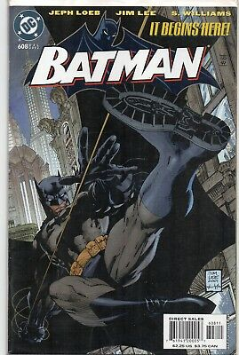 BATMAN #608 Hush 1st Print Jim Lee DC Comics RARE Comic