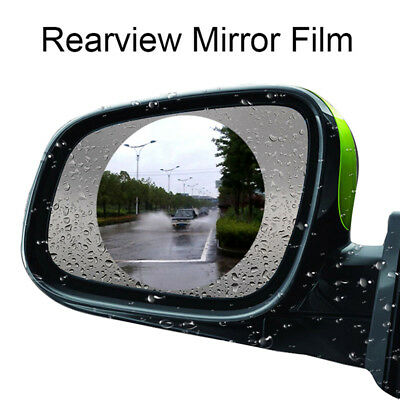 Rainproof Anti-fog Car Rearview Mirror Film Sticker Protective Film Rain Shie