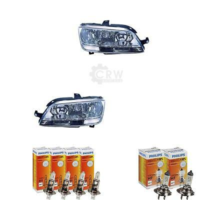 Set Fanali Fiat Multipla Idea 12 2005-2010 H1+H1+H7 Incl. Lampade 1367290