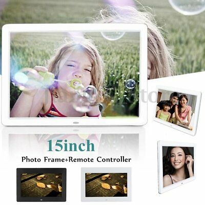 Christmas 15incn LCD HD Electronic Digital Photo Frame Picture MP4 Player S6
