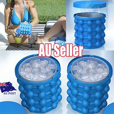 COOL Ice Cube Maker Genie The Revolutionary Space Saving Ice Genie Cube Maker S6