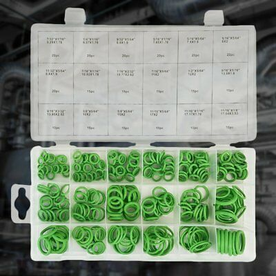 270PCS Rubber O Ring Wear Resistant Oil Seal Green Gaskets For Air Cylinder S6