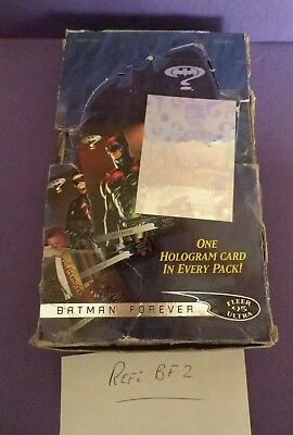 Batman Forever Fleer Ultra Cards 1995 Compleat Box of 36 F/sealed packs Ref:BF2.