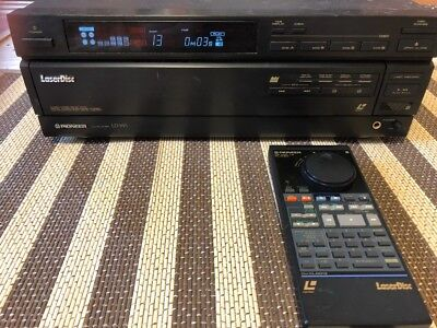 Pioneer LD-W1 Laser Disc Player Works