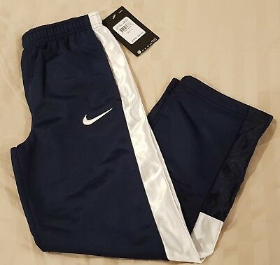 fd6cd4763 NWT $30 NIKE Boys SIZE 6 Tricot Athletic Pants BLACK Poly GYM Sports ...