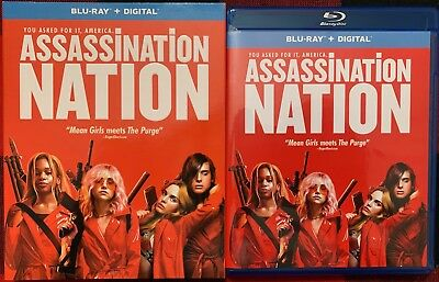 Assassination Nation Blu Ray + Slipcover Sleeve Free World Wide Shipping Buy It