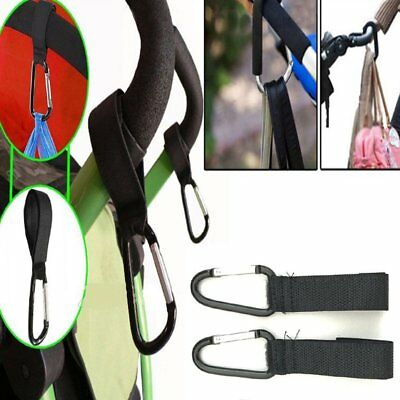 Stroller Hooks Wheelchair Pram Carriage Bag Hanger Hook Baby Strollers Clip S7