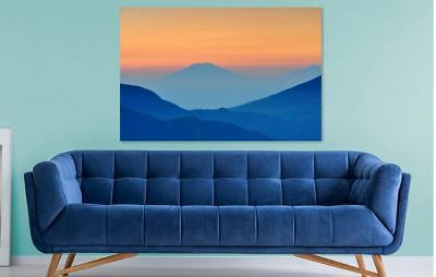 BEAUTIFUL MORNING SCENERY Framed home wall Picture Art Canvas choose your size