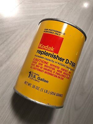Kodak Dk-50R Replenisher Powder Makes 1 Gallon