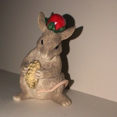 Charming Tails Three Wise Mice Christmas Figurine Dean Griff Silvestri Mouse