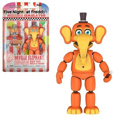 Five Nights At Freddy's -Pizza Sim, Orville Elephant, Funko, Action Figure, FNAF