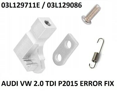 Audi A4 A5 A6 A8 Q5 Q7 2.7 3.0 Tdi Error P2015 Repair Brackets Fix 059129086