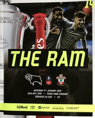 * 2018/19 - DERBY COUNTY v SOUTHAMPTON (FA CUP - 5th January 2019) *