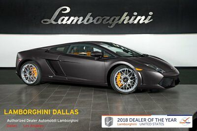 2013 Lamborghini Gallardo LP550-2 Coupe CORDELIA WHLS+NAV+REAR CAMERA+TRANSPARENT ENGINE+POWER HEATED SEATS+MATTE COLOR