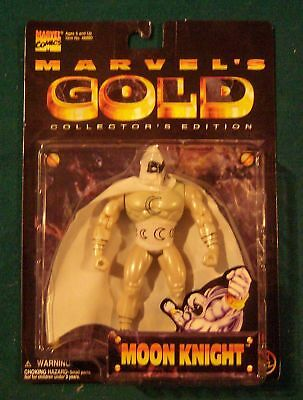Marvels Gold Moon Knight Action Figure Collectors Edition