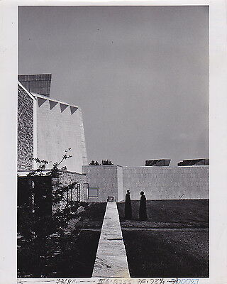MARCEL BREUER: St. Johns Abbey Collegeville MN * Modernist  Photo by SHIN KOYAMA