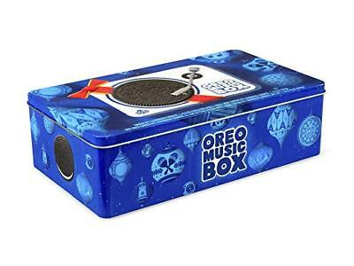 Oreo Music Box - Cookie Record Player Collectible Holiday Gift Tin US Seller!!