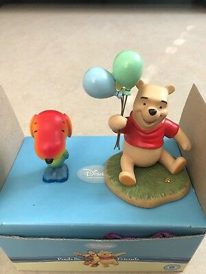 Pooh and Friends plus Snoopy ~ Porcelain Figurines