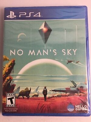 No Man's Sky (Sony PlayStation 4, 2016) PS4 Brand New & Sealed!