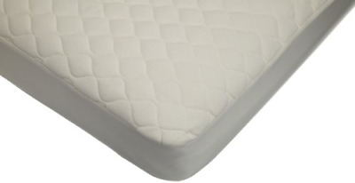 American Baby Company Waterproof Quilted Crib and Toddler Size Fitted Mattress -