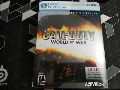 PC Game Call of Duty: World at War -- Limited Collector's Edition