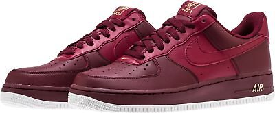 Nike Air Force 1 '07 Casual Shoes Team Red Summit White AA4083-603 Men's NEW