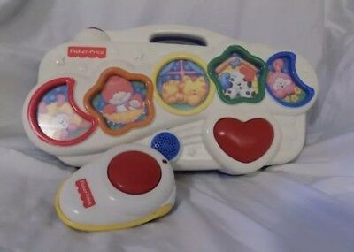 Fisher Price Slumbertime Soother with Remote Control baby sound machine
