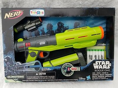 NERF Star Wars Rogue One Imperial Death Trooper Deluxe Blaster New in box