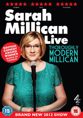 Sarah Millican - Thoroughly Modern Millican Live (DVD, 2012) (E667)