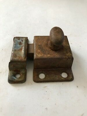 1 Antique Shabby Chippy Chic Primitive Cabinet Cupboard Door Latch Lock Catch