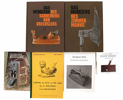Group of French & German Antique Tool Reference Books - Excellent Condition