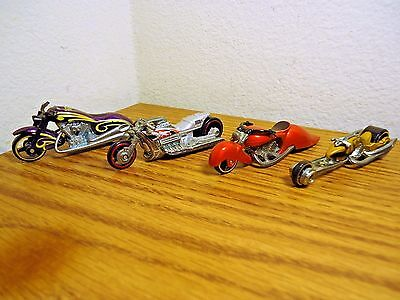 Hot Wheels Motorcycles Scorchin Scooter Airy 8 W Oozie Hammer Sled Rare