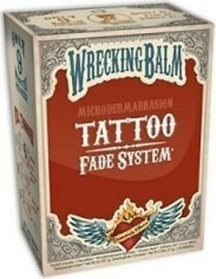 Remove Tattoos Cream Wrecking Balm Microdermabrasion Help Tattoo Fade System!