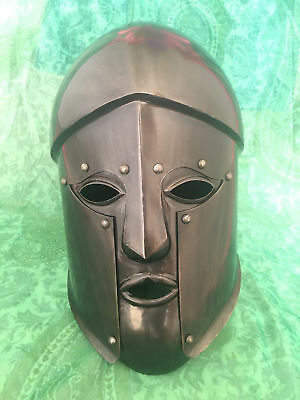 Medieval Ancient Vintage Greek Spartan Armour Helmet Halloween Helmet