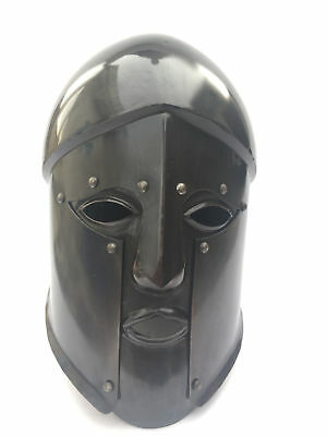 Medieval Greek Spartan Ancient Corinthian Armour Helmet