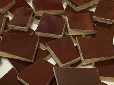 Dark Brown Irregular Mosaic Ceramic Tiles