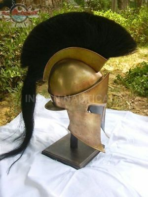 300 Movie Spartan King Leonidas Medieval Roman Helmet Greek