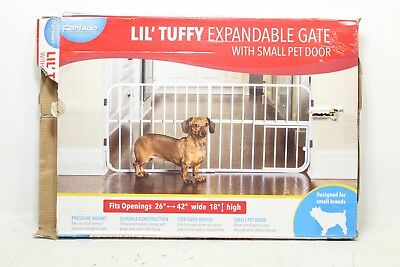 CARLSON Carlson Lil Tuffy Metal Expandable Gate - Ne Does not apply - New Other